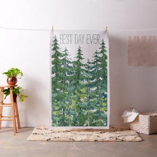 Fir Tree Wedding Photo Booth Backdrop