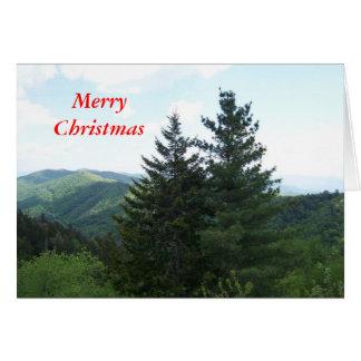 Fir Trees Card