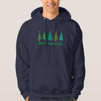 Fir Trees Christmas Hoodie