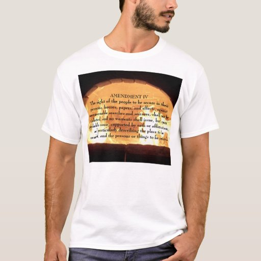 fire86, AMENDMENT IV The right of the people to... T-Shirt