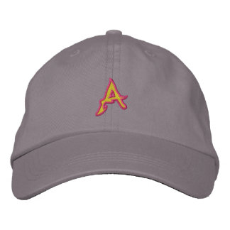 Fire #1 Letter A Embroidered Hat