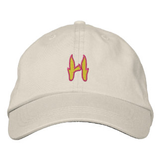 Fire #1 Letter H Embroidered Hat