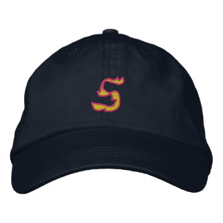 Fire #1 Number 5 Embroidered Hat