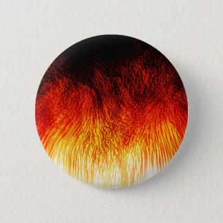 Fire 2 Inch Round Button