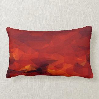 Fire Abstract Lumbar Pillow
