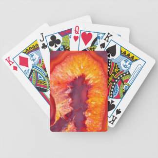 Fire Agate Bicycle Playing Cards