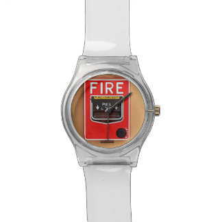 Fire Alarm Handle Wristwatches