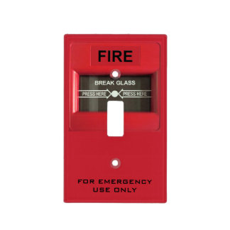 Fire Alarm Light Switch Cover