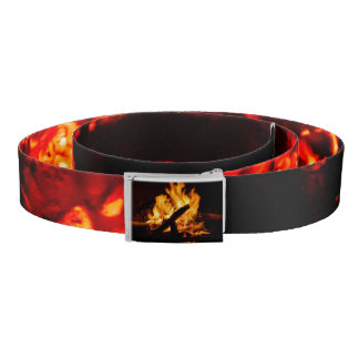 Fire and Embers custom belt