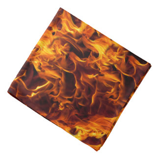 Fire and Flame Pattern Bandannas