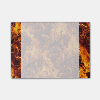 Fire and Flame Pattern Post-it® Notes