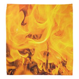 Fire and flames bandana