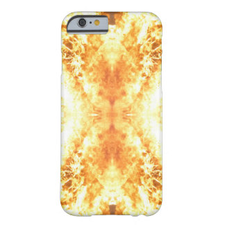 Fire and flames barely there iPhone 6 case