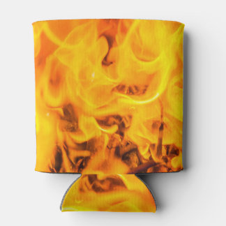 Fire and flames can cooler