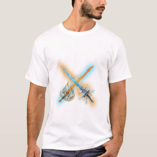 Fire and Frost Sword T-Shirt