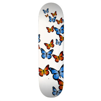 Fire and Ice Butterflies Skate Decks