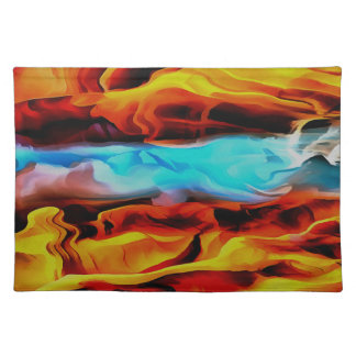 Fire and Ice Placemats