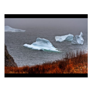 Fire and Ice Post Card