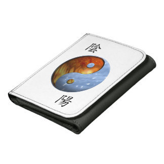 Fire and Ice Yin Yang Wallet