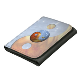 Fire and Ice Yin Yang Wallets