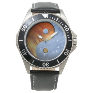 Fire and Ice Yin Yang Watches