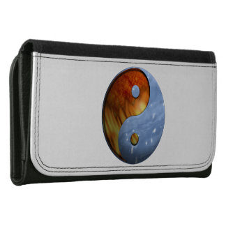 Fire and Ice Yin Yang Women's Wallet