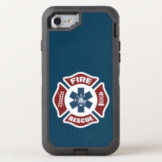 Fire and Rescue OtterBox Defender iPhone 8/7 Case