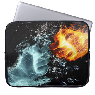 Fire and Water Laptop Sleeve