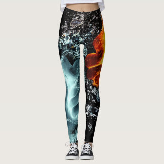Fire and Water Leggings