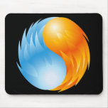 FIRE AND WATER MOUSEPAD