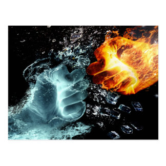 Fire and Water Postcard