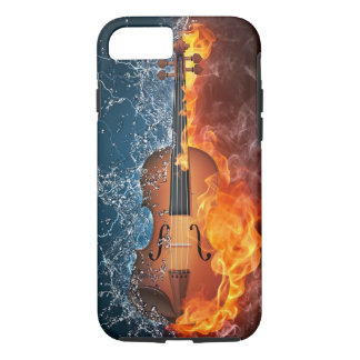 Fire and Water Violin Tough iPhone 7 Case