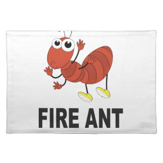 fire ant butt placemat