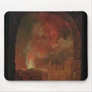 Fire at the Opera of the Palais-Royal Mouse Pad