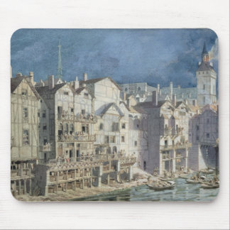 Fire at the Pont aux Meuniers in 1621 Mouse Pad