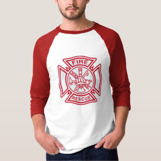 Fire Baseball Shirt