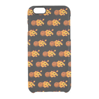 Fire Basketball iPhone 6/6s Clearly™ Case