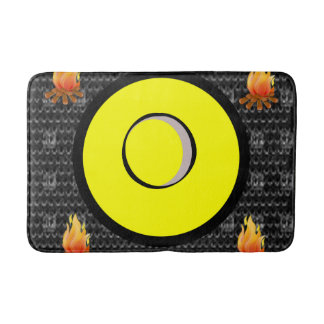 Fire bathroom bathmat
