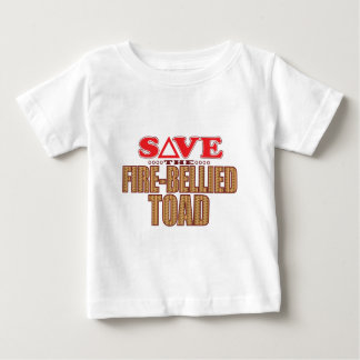 Fire-Bellied Toad Save Baby T-Shirt