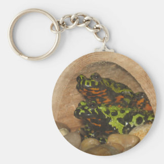 Fire Belly Toads Key Chain