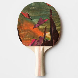 """Fire Birds"" Ping Pong Paddle"