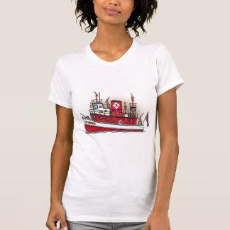 Fire Boat Ladies Tank Top