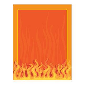 Fire Border Postcard