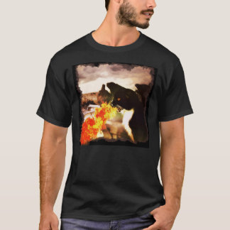 Fire Breathing Dragon Cat shirt
