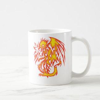FIRE BREATHING DRAGON COFFEE MUGS