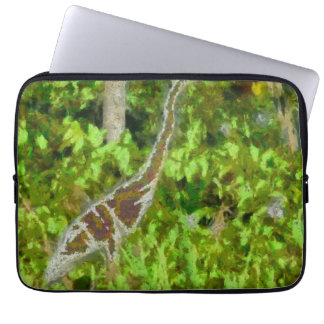 Fire breathing dragon laptop computer sleeves