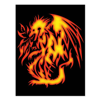 FIRE BREATHING DRAGON POSTCARDS