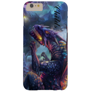Fire Breathing Multii Colored Dragon Typography Barely There iPhone 6 Plus Case