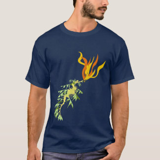 Fire Breathing Sea Dragon T-Shirt