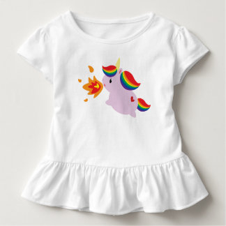 Fire-Breathing Unicorn Toddler T-shirt